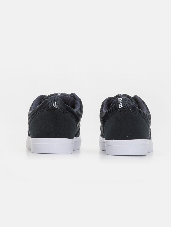 %0 Diğer malzeme (pvc) %0 Tekstil malzemeleri(%50 pamuk,  %50 polyester) Erkek Bağcıklı Düz Ayakkabı