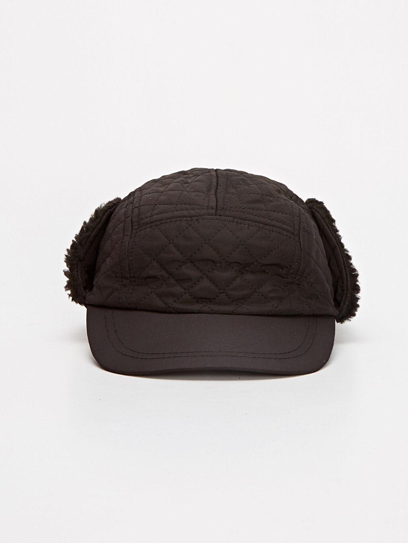 %100 Polyester %100 Polyester  Kapitone Kulaklı Şapka