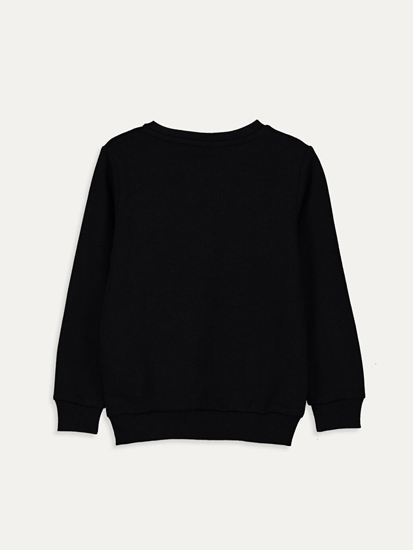 %67 Pamuk %33 Polyester  Erkek Çocuk Atatürk Gençliğe Hitabe Baskılı Sweatshirt