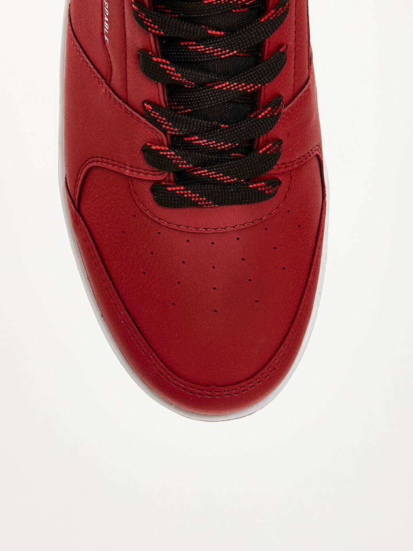 LC Waikiki Kırmızı Erkek Bilekli Spor Ayakkabı