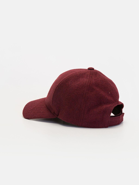 Erkek Yazı Nakışlı Kaşe Şapka