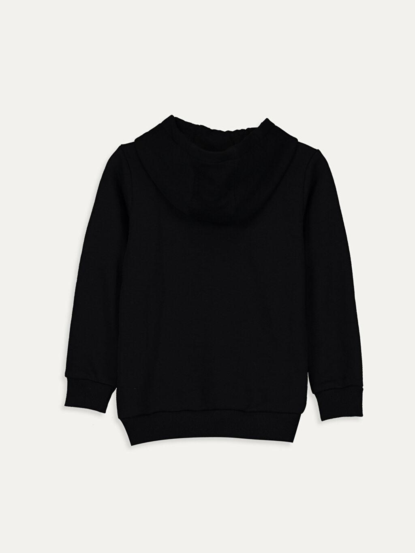 %67 Pamuk %33 Polyester  Unisex Bebek Yazı Baskılı Sweatshirt