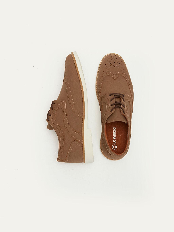 Diğer malzeme (pvc)  Erkek Bağcıklı Derby Ayakkabı