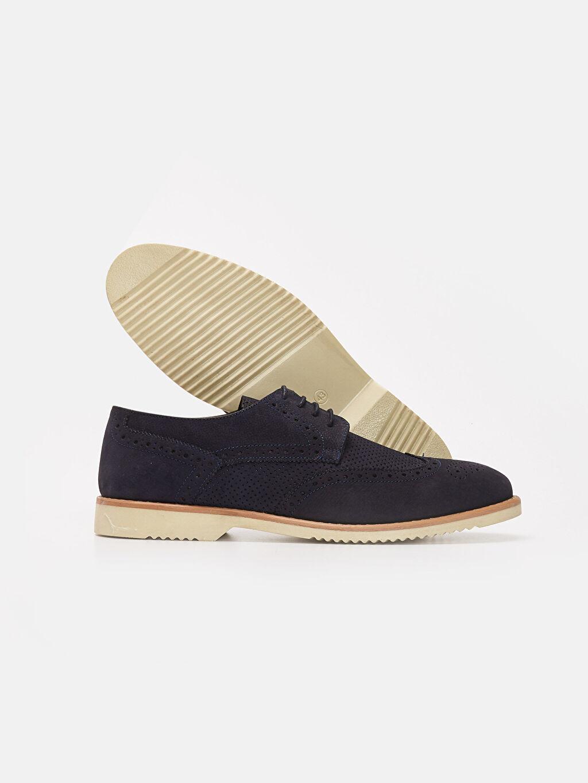 Erkek Erkek Bağcıklı Deri Ayakkabı
