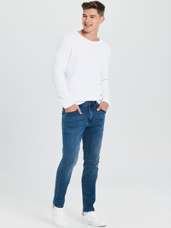 İndigo 750 Slim Fit Jean Pantolon 9WQ758Z8 LC Waikiki