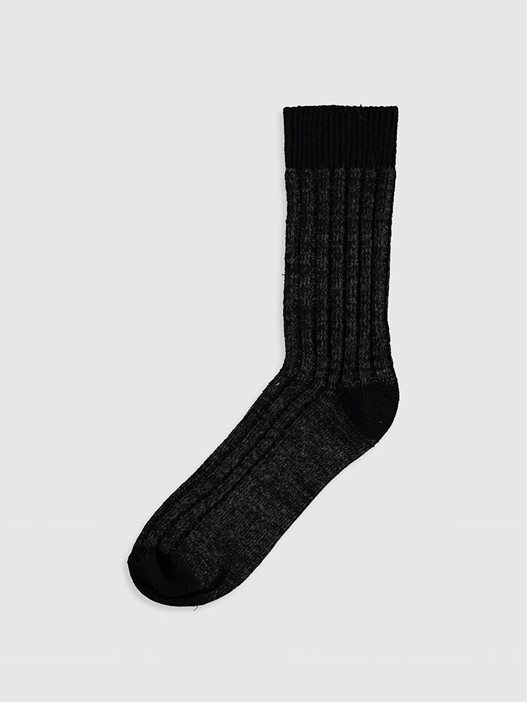 Siyah Soket Çorap 9WS481Z8 LC Waikiki