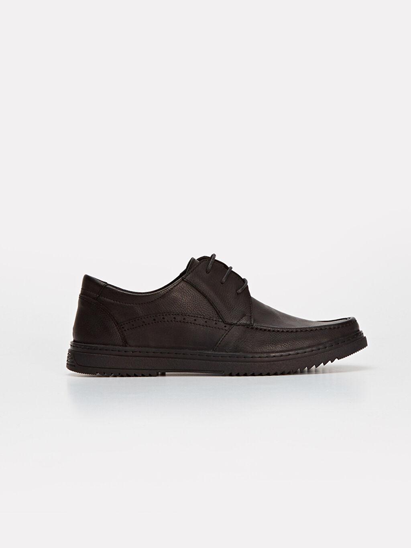 Siyah Erkek Klasik konfor Ayakkabı 9WS640Z8 LC Waikiki