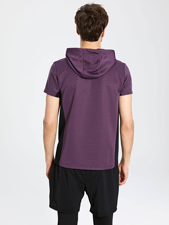 Erkek Kapüşonlu Aktif Spor Sweatshirt