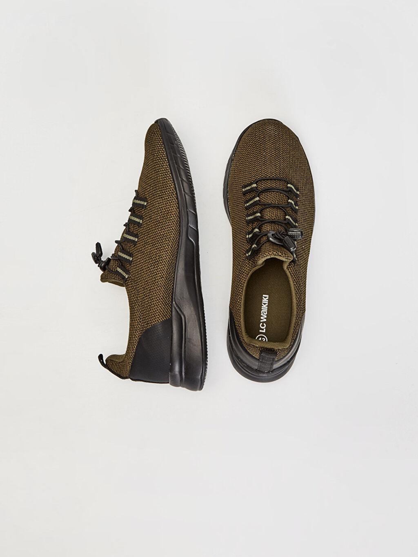 Tekstil malzemeleri Diğer malzeme (poliüretan)  Erkek Günlük Spor Ayakkabı