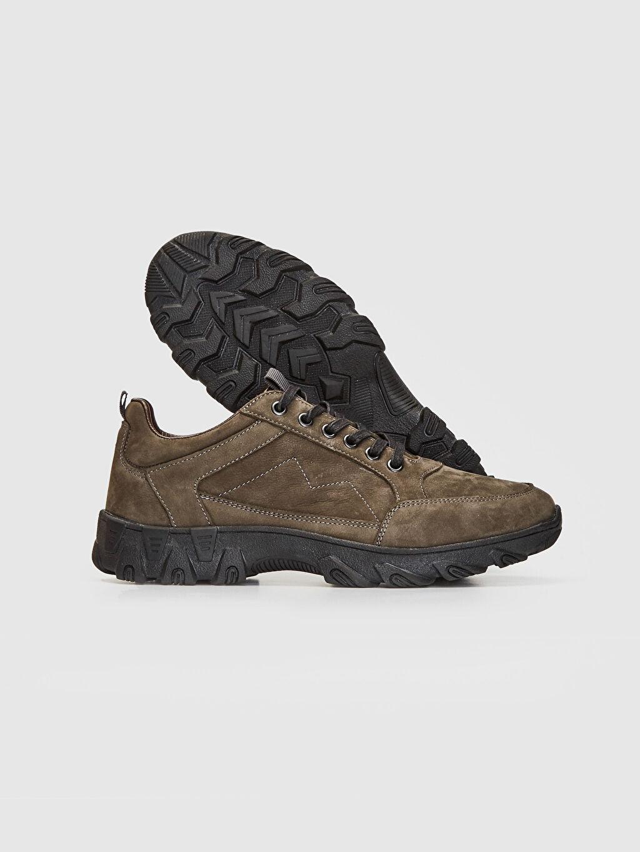 Erkek Erkek Hakiki Deri Trekking Ayakkabı
