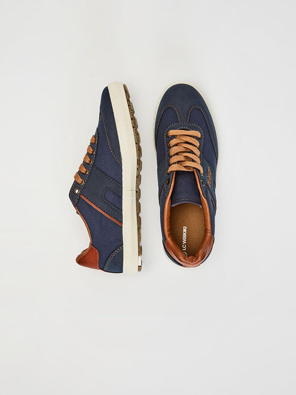 Tekstil malzemeleri Diğer malzeme (pvc) Ayakkabı Erkek Bağcıklı Günlük Ayakkabı