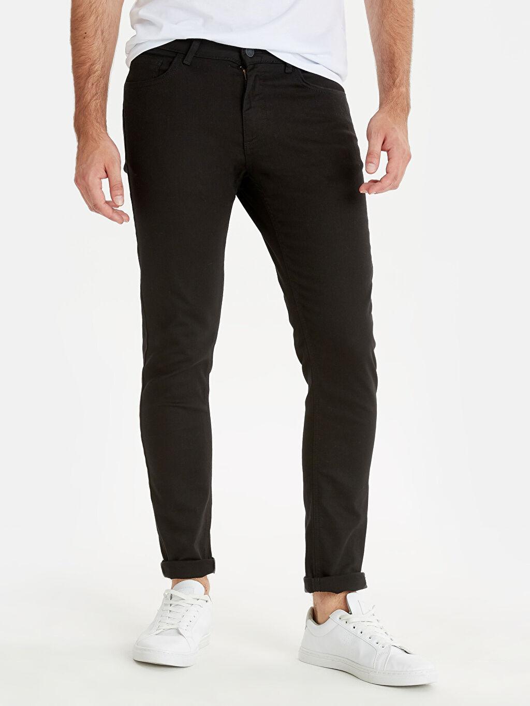 %98 Pamuk %2 Elastan Normal Bel Extra Dar Jean 760 Skinny Fit Jean Pantolon