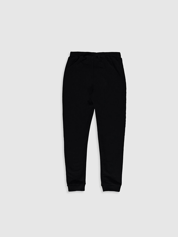 %72 Pamuk %28 Polyester Standart Normal Bel Erkek Çocuk Jogger Pantolon
