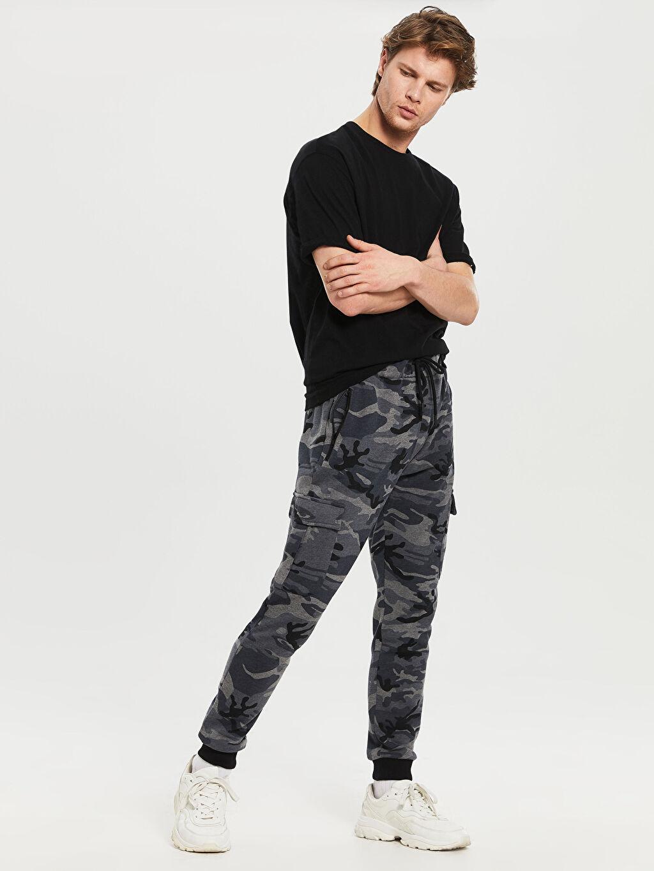 %47 Pamuk %53 Polyester  Slim Fit Jogger Eşofman Altı