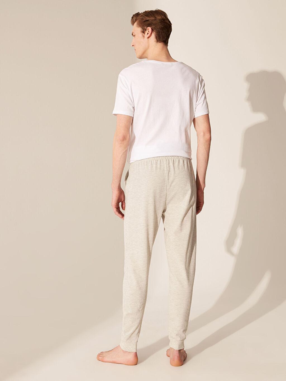 %71 Pamuk %29 Polyester Standart Kalıp Jogger Pijama Altı