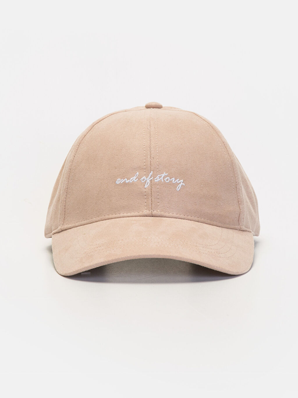 %100 Polyester %100 Polyester  Slogan Baskılı Şapka