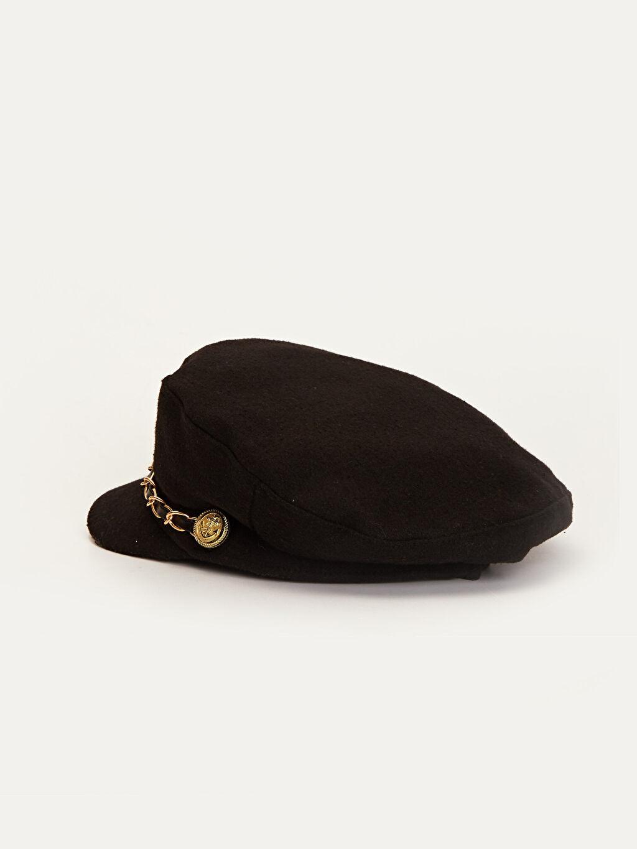 Kadın Kaşe Denizci Şapka