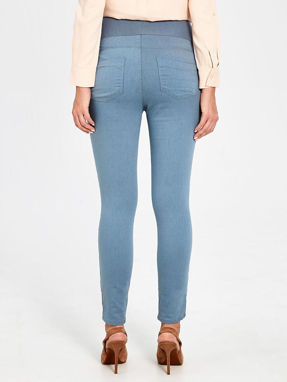 %71 Pamuk %25 Polyester %4 Elastan Skinny Hamile Pantolon