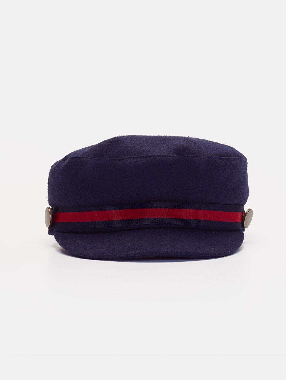 %9 Pamuk %85 Poliester %1 Yün %5 Akrilik %100 Pamuk  Kaşe Denizci Şapka