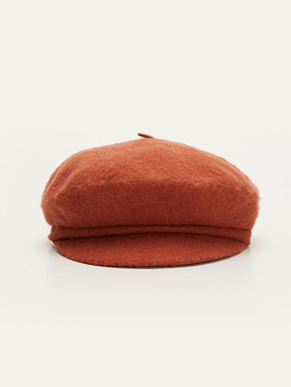 %10 Poliamid %90 Yün  Ressam Şapka