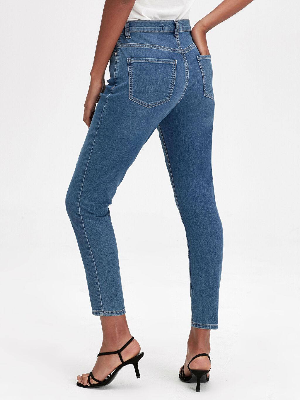 Kadın Kısa Paça Skinny Jean Pantolon