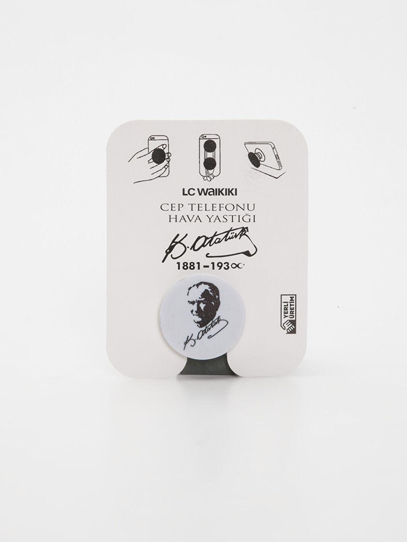 Çok Renkli Mustafa Kemal Atatürk Baskılı Cep Telefonu Hava Yastığı 9WL169Z8 LC Waikiki