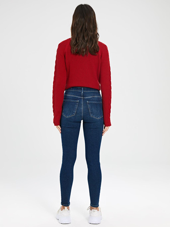 Kadın Super Skinny Jean Pantolon