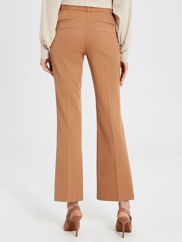 Kadın Normal Bel Esnek Pantolon
