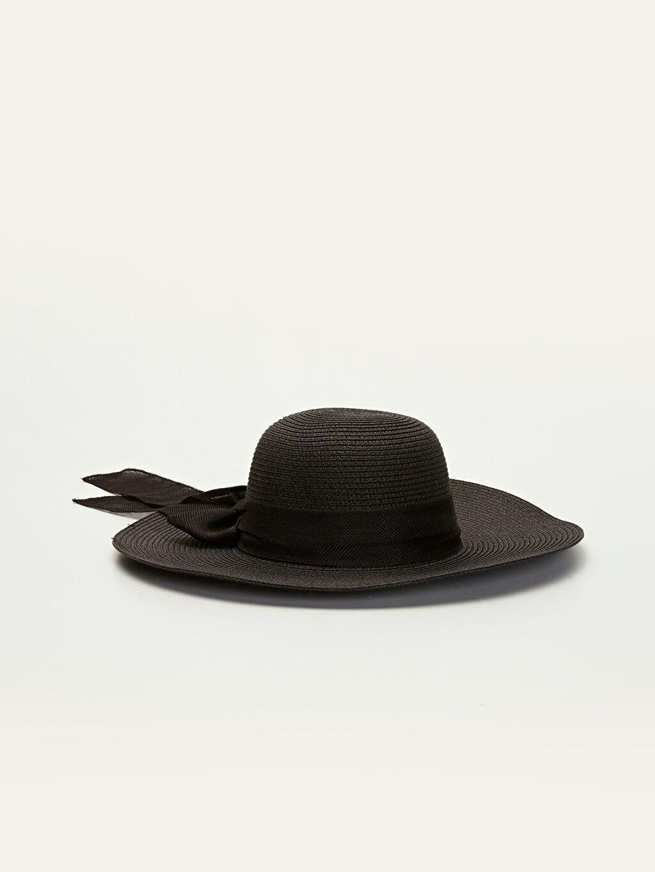 Siyah Dokuma Fötr Şapka 9WQ953Z8 LC Waikiki