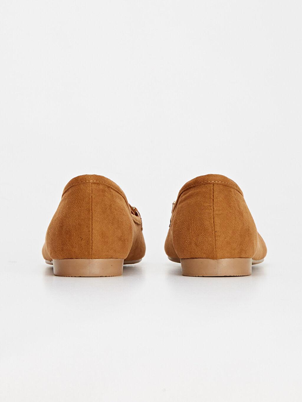Kadın Püsküllü Babet Ayakkabı