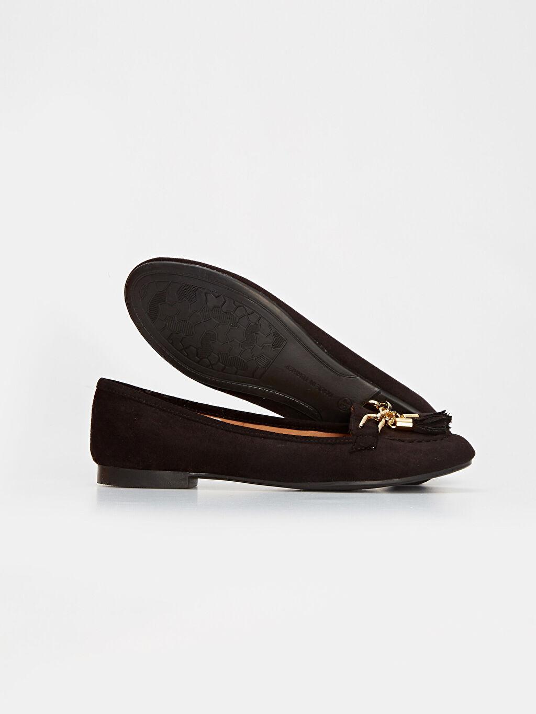 Kadın Kadın Püsküllü Babet Ayakkabı