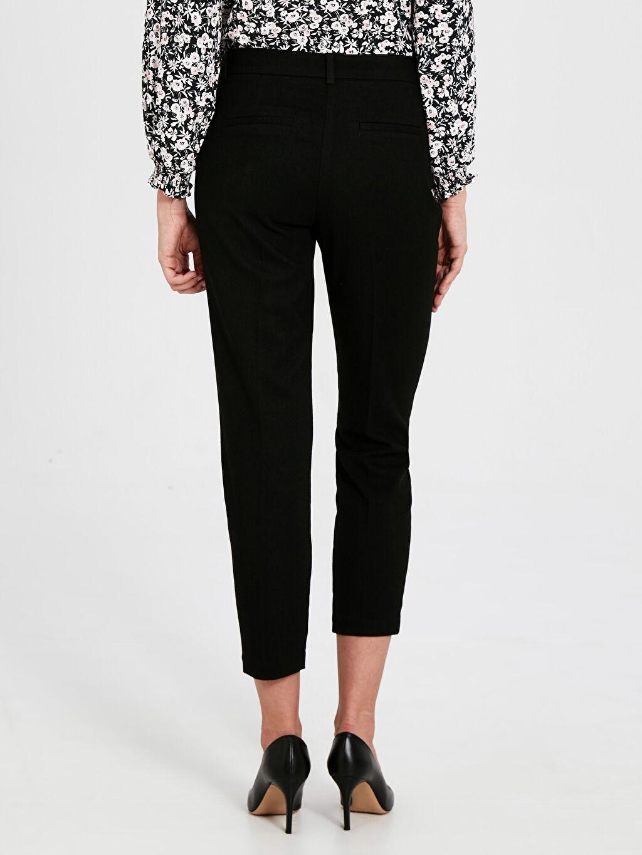 Kadın Bilek Boy Düz Pantolon