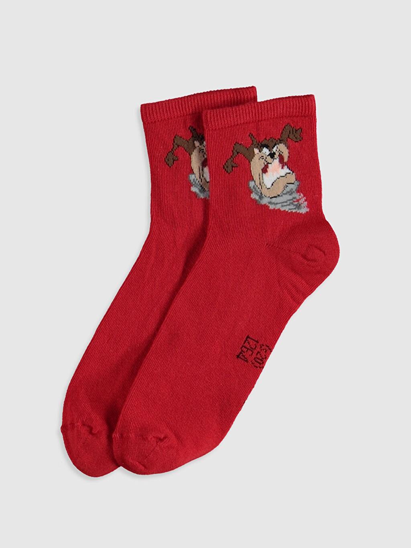 %69 Pamuk %29 Poliamid %2 Elastan  Soket Çorap