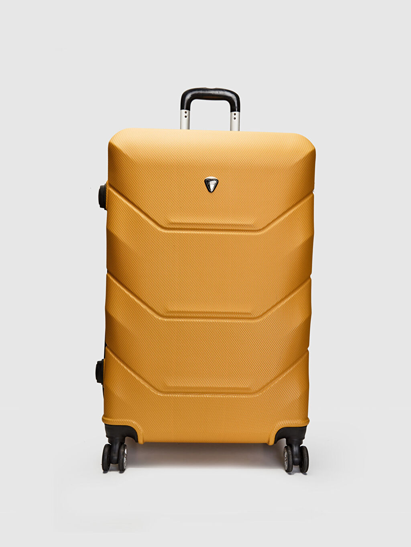 Sarı Büyük Boy Valiz 0SH486Z8 LC Waikiki