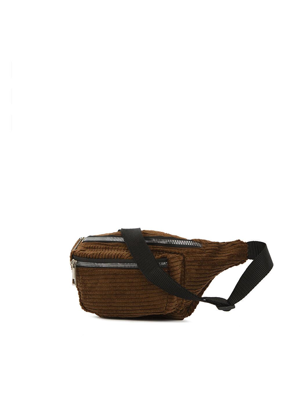 Bagmori Kahverengi Kadın Bel Çantası