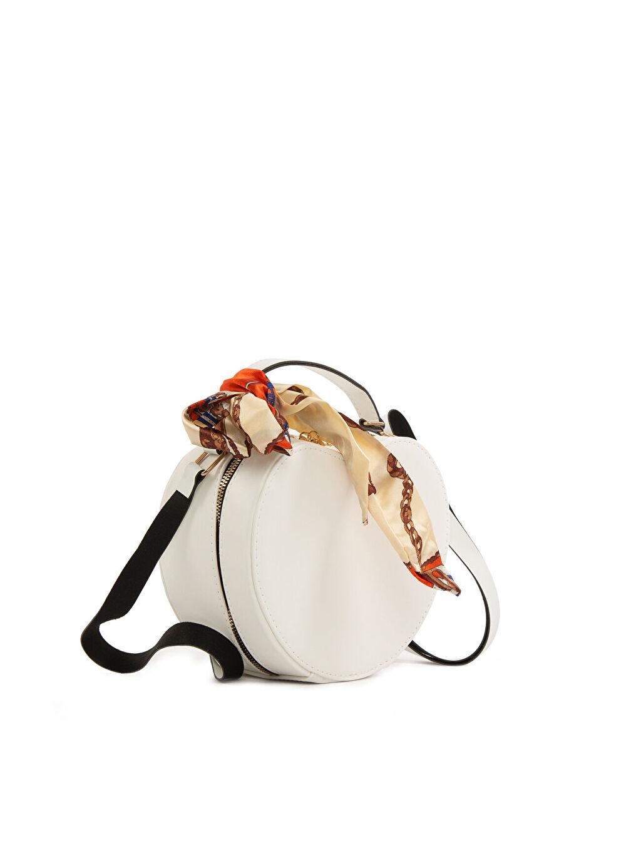 Bagmori Beyaz Kadın Askılı Çanta