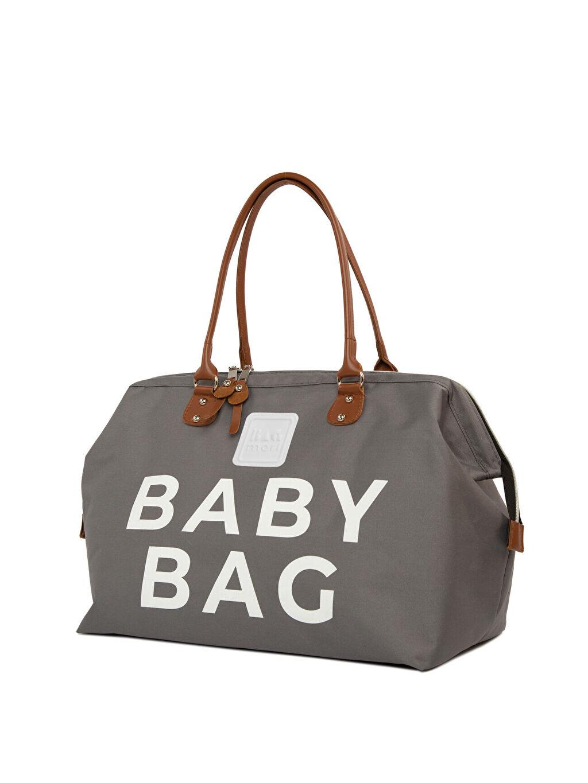 Bagmori Gri Kadın Anne Bebek Çantası