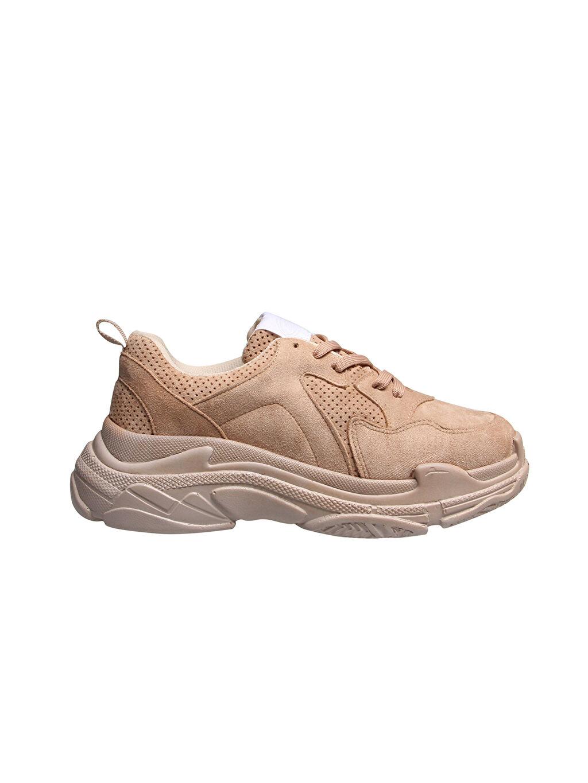 Kahverengi M.P Kadın Yürüyüş Ayakkabısı 9WY823Z8 LC Waikiki