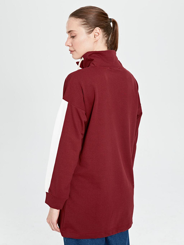 Kaktüs Şerit Detaylı Sweatshirt