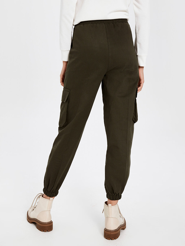 Kadın Allday Camel Pantolon