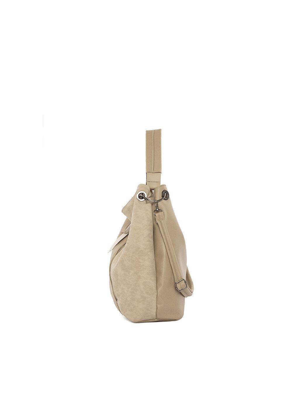 Kadın Bagmori Nubuk Garnili Yıkamalı Askılı Çanta