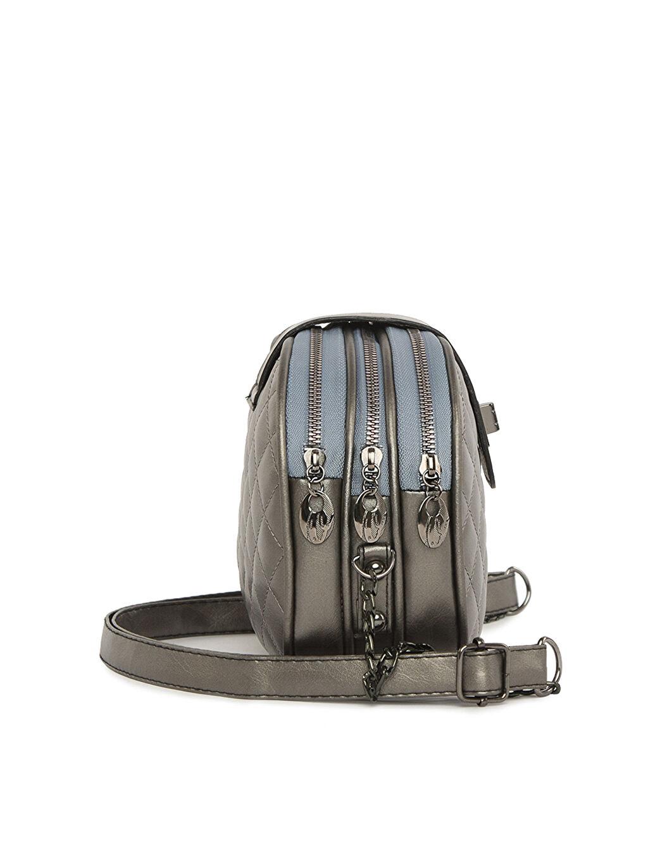 Kadın Bagmori Üç Fermuarlı Kilitli Çanta