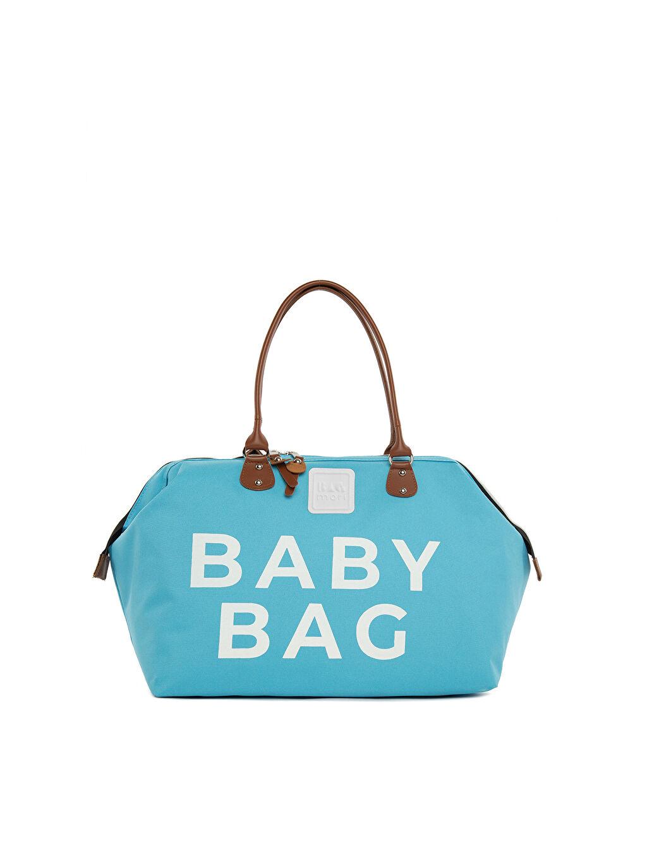 Mavi Bagmori Baby Bag Baskılı Bebek Bakım Çantası 9WB963Z8 LC Waikiki
