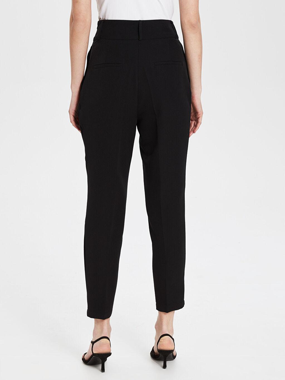 Kadın Sateen Pileli Pantolon