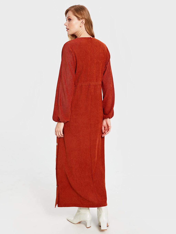 Kadın Soul By Loreen Düğme Detaylı Kuşaklı Elbise