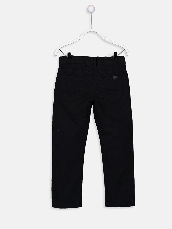 %100 Pamuk Normal Bel Normal Erkek Çocuk Gabardin Pantolon