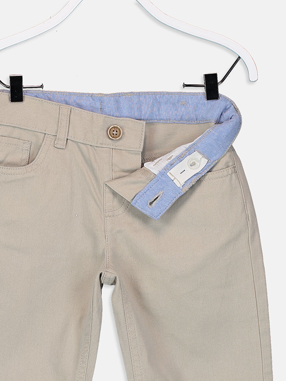Erkek Çocuk Erkek Çocuk Gabardin Pantolon