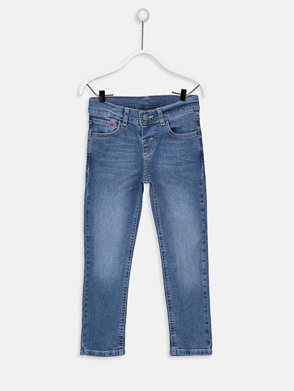 İndigo Erkek Çocuk Slim Jean Pantolon 9W1709Z4 LC Waikiki