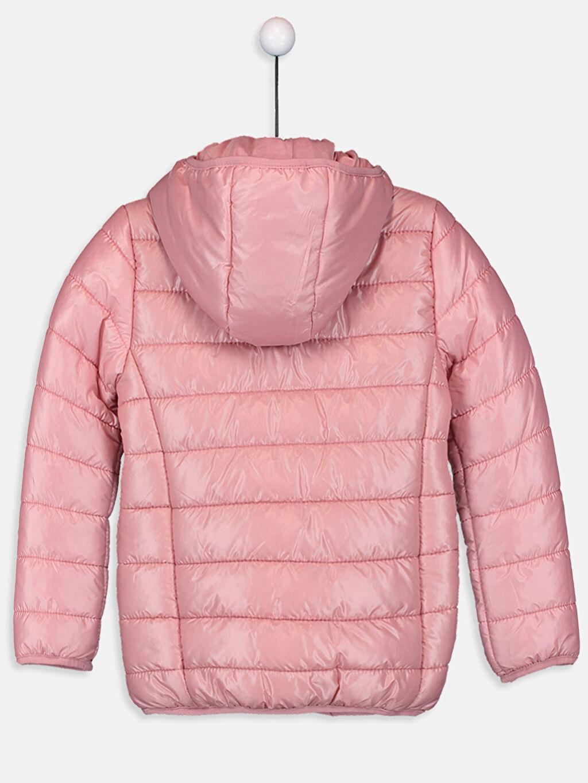 %100 Polyester %100 Pamuk Mont İnce Kız Çocuk İnce Şişme Mont