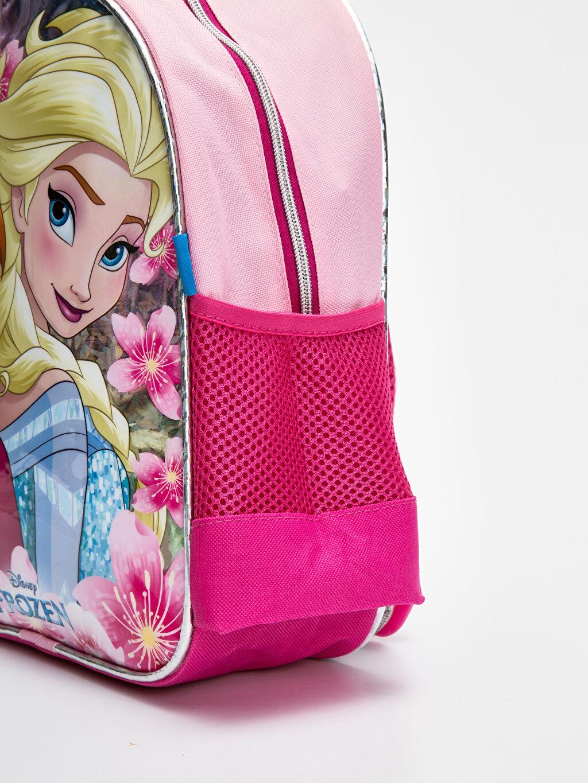 %100 Polyester Kız Çocuk Frozen Elsa Sırt Çantası